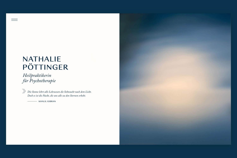 Nathalie Pöttinger Psychotherapie